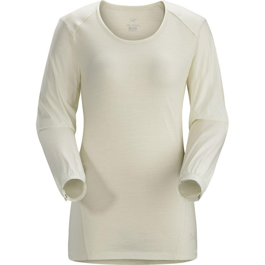 Arc'teryx Lana Comp Shirt Long Sleeve 始祖鸟 女款美利奴羊毛抗菌T恤