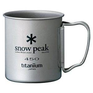 Snow Peak 雪峰 MG-043R 双层手柄钛杯