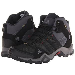 阿迪达斯户外 AX2 adidas AX2 Mid GTX  男款户外防水徒步靴