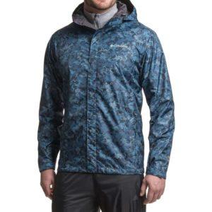L码起: Columbia 哥伦比亚 Watertight Printed Omni-Tech 男士防水冲锋衣 4色