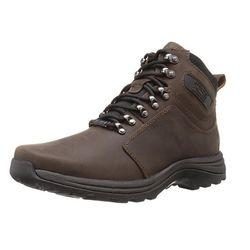 限US7 2E码: ROCKPORT 乐步 Hill Crest 男士防水徒步鞋