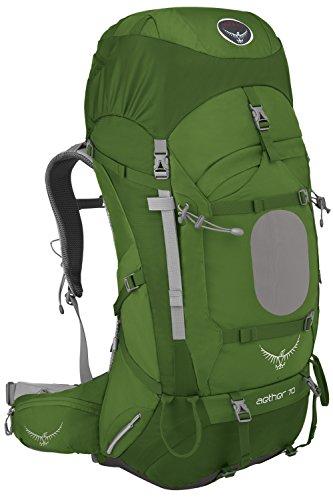 Osprey 苍穹 户外背包 Aether 60升 绿色 L码