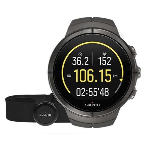 SUUNTO 颂拓 Spartan 斯巴达 Ultra SS022659000 精钢黑 GPS运动腕表