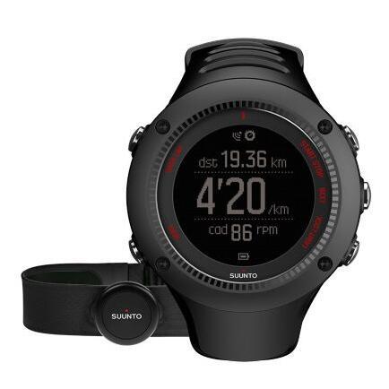 Suunto Ambit3 Run 颂拓 拓野3R 户外GPS跑步腕表(配心率带)