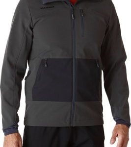 Mammut Ozette Hooded Soft Shell Jacket 猛犸象 男款防风防泼水软壳