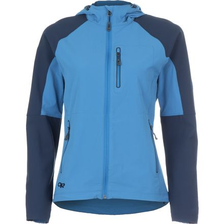 Outdoor Research Ferrosi Hooded Softshell Jacket 女款 软壳