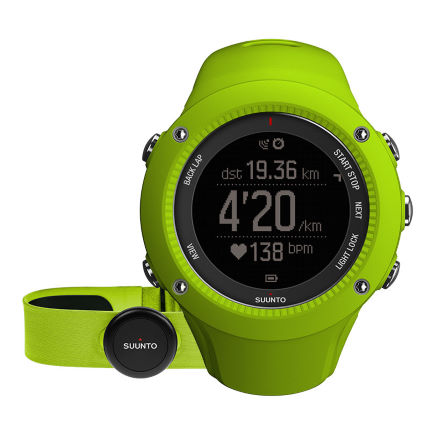 SUUNTO Ambit 3 Run  颂拓 拓野3R 户外GPS跑步腕表(配心率带)