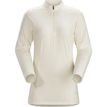 Arc'teryx Skeena Zip-Neck Shirt 始祖鸟 女款速干长袖T恤