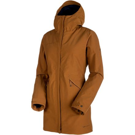 Mammut Chamuera HS Hooded Thermo Parka 猛犸象 女款防风硬壳棉服