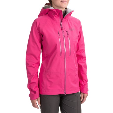 Mountain Hardwear Alchemy Dry.Q® Elite Jacket 山浩 女款次高端全功能防水硬壳