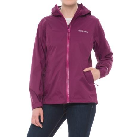Columbia Sportswear EvaPOURation Omni-Tech® Jacket  哥伦比亚 女款防水冲锋衣