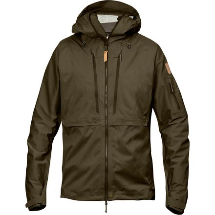 Fjallraven Keb Eco-Shell Jacket 北极狐 男款防水外套