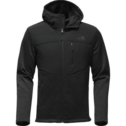 The North Face Norris Insulated Hoodie 北面 男款半软壳弹性双层针织保暖外套