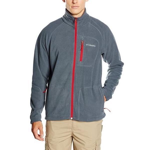 中亚Prime会员、限S码: Columbia 哥伦比亚 Sportswear Fast Trek II 男款抓绒衣 *2件