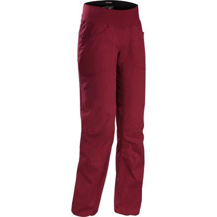 Arc'teryx Levita Pant 始祖鸟 女款轻薄弹性帆布攀岩裤