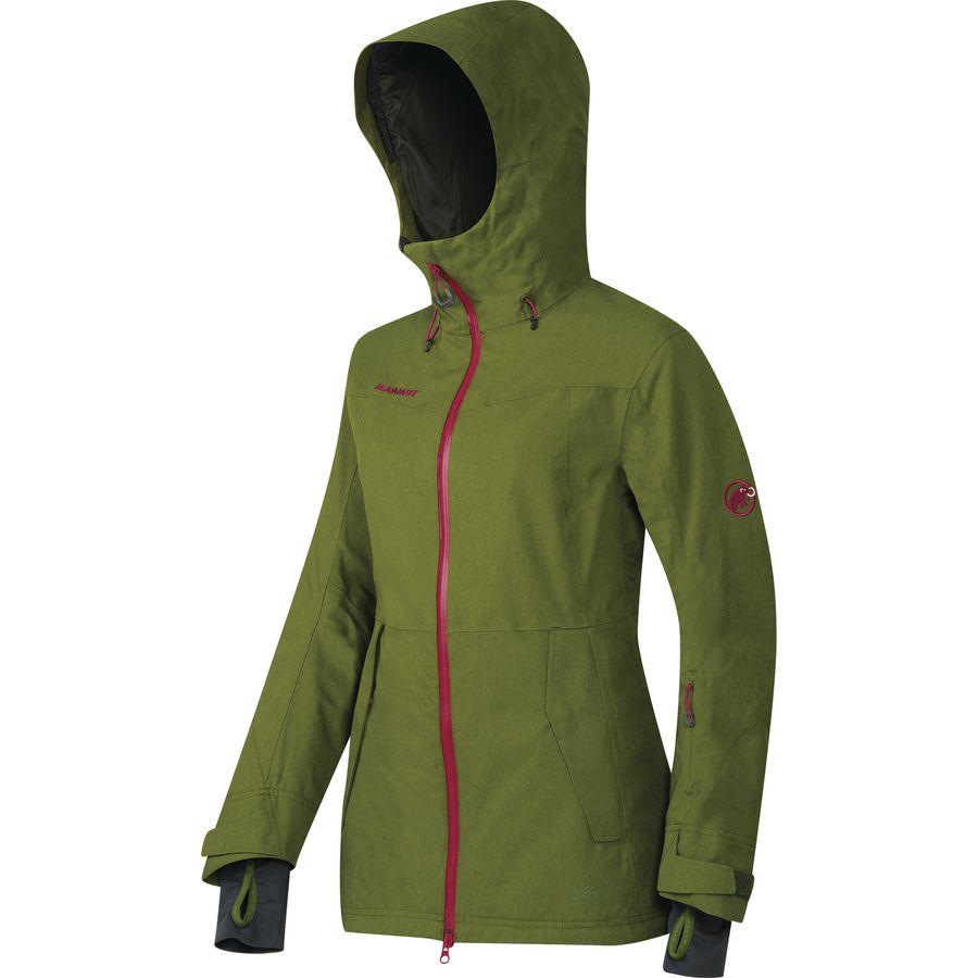 Mammut Niva HS Hooded Jacket 猛犸象 女款硬壳滑雪夹克