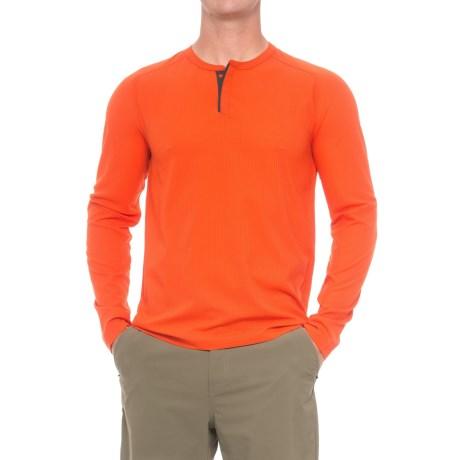 Mountain Hardwear MHW AC Henley Shirt 山浩 男款速干T恤