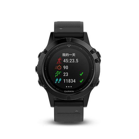 GARMIN 佳明 fenix 5 蓝宝石国行中文DLC版 户外GPS心率表