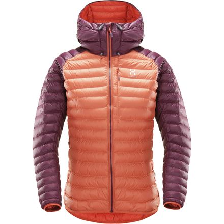 Haglofs Essens Mimic Hooded Insulated Jacket 火柴棍 女款连帽保暖棉服