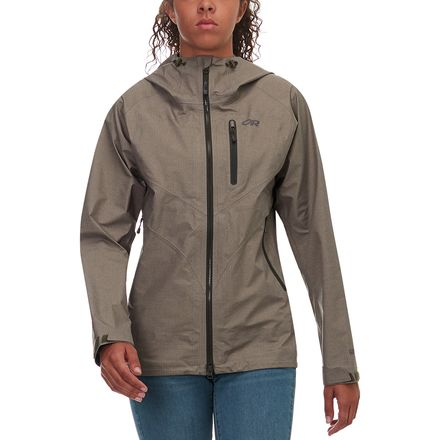 齐乐娱乐_Outdoor Research Optimizer Jacket 女款户外防水冲锋衣