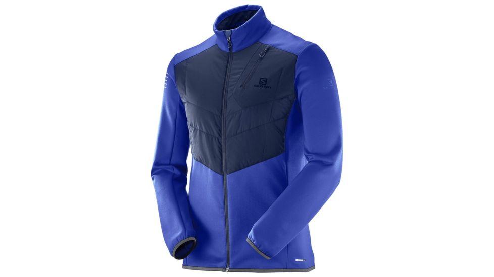 齐乐娱乐_Salomon Pulse Warm Jacket 萨洛蒙 男款户外保暖棉服