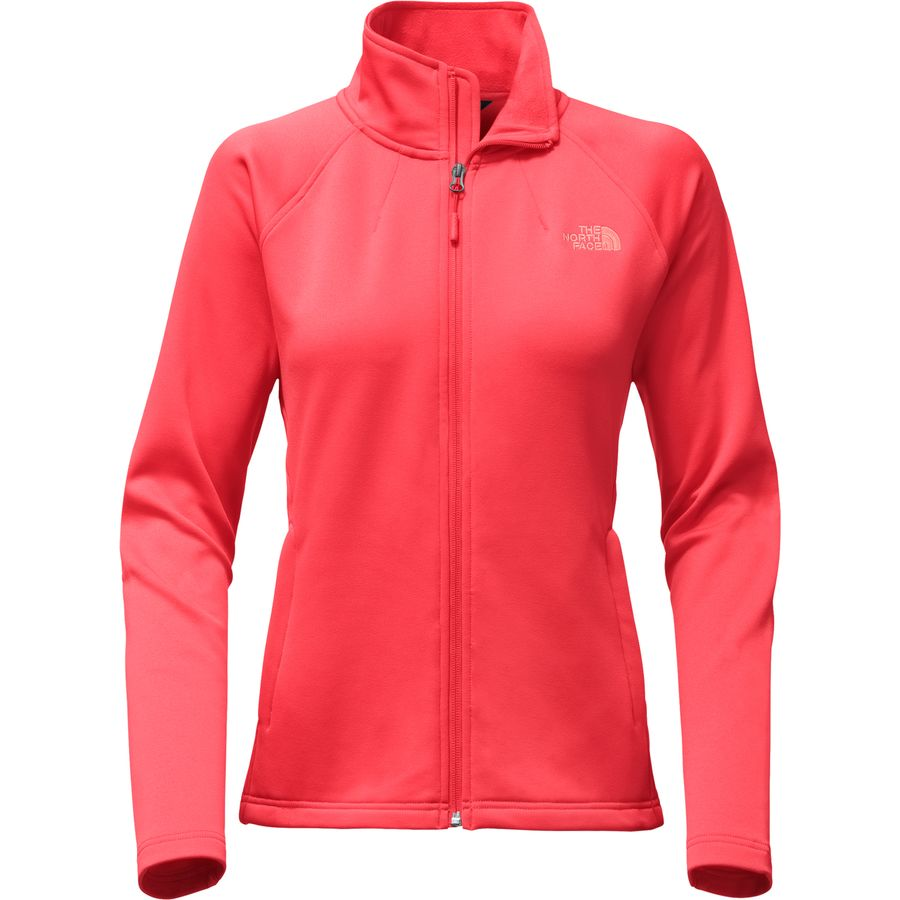 The North Face Momentum Fleece Jacket 北面 女款户外抓绒夹克