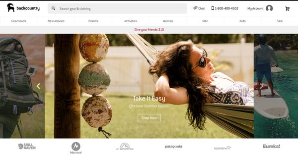 想要自己在美国网站购买品牌户外用品?户外爱好者们最常逛的户外用品网站