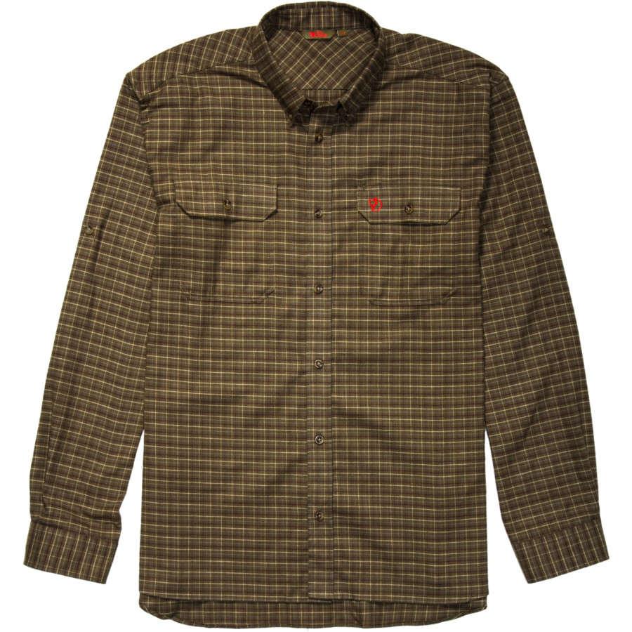 Fjallraven Forest Flannel Long-Sleeve Shirt 北极狐 男款长袖衬衫