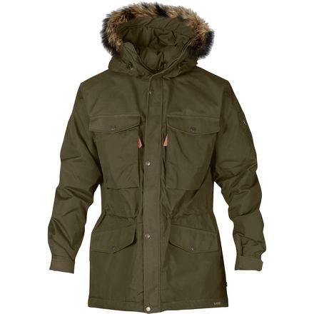 Fjallraven Singi Winter Insulated Jacket 北极狐 男款保暖大衣
