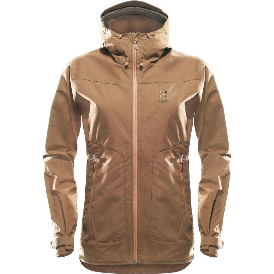Haglofs Trail Hooded Jacket 火柴棍 女款连帽防风夹克