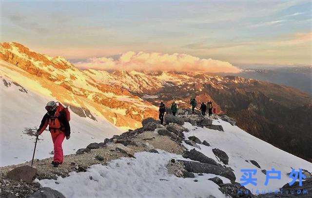 攀登云南哈巴雪山,圆自己一个雪山梦