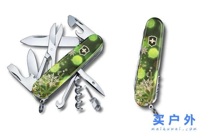 Victorinox维氏推出2018圣诞节限定瑞士军刀