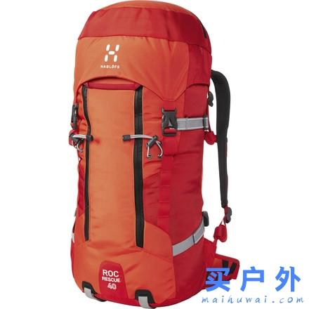 齐乐娱乐_Haglofs Roc Rescue 40L Backpack 火柴棍 户外登山背包