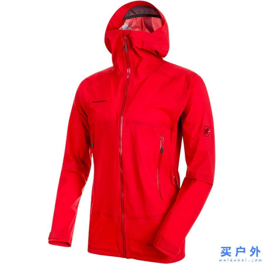 Mammut Masao Light HS Hooded Jacket 猛犸象 男款防水透气硬壳冲锋衣