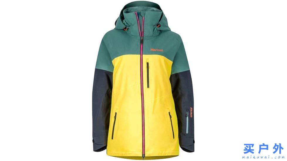 Marmot Jumpturn Jacket 土拨鼠 女款滑雪服