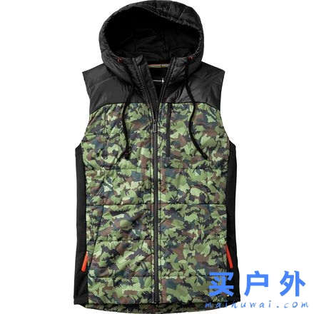 Smartwool Double Propulsion 60 Hooded Inuslated Pattern Vest 男款 保暖马甲
