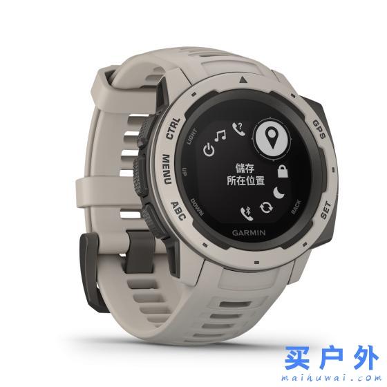 Garmin佳明instinct,以军用标准打造的多功能智能运动手表