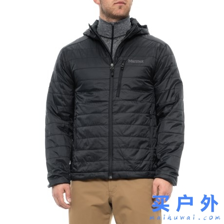 Marmot COLDEN PrimaLoft Hooded Jacket 土拨鼠 男款连帽保暖棉服