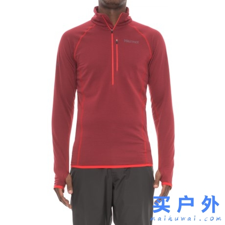Marmot Neothermo Polartec Power Grid Shirt 土拨鼠 男款抓绒长袖