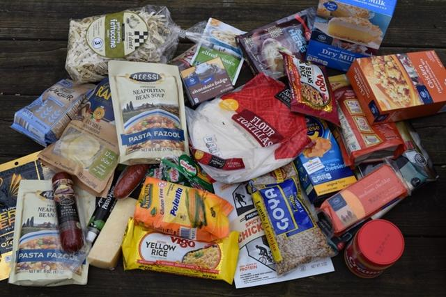 户外露营,食物的储存和携带
