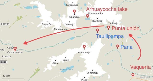 秘鲁安第斯山区徒步天堂圣克鲁兹,4天3夜徒步48公里的故事