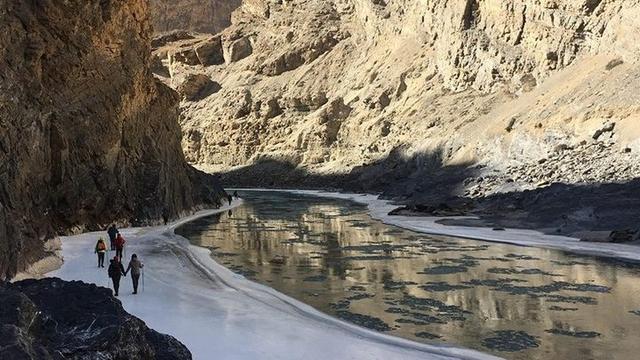 世界最佳十大徒步探险路线,中国故土拉达克赞斯卡冰川徒步