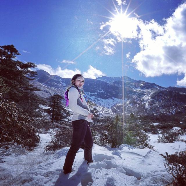 哈巴雪山,一座属于你的初级入门雪山