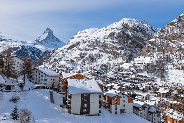 瑞士旅行,拥抱阿尔卑斯山脉走近马特洪峰Matterhorn