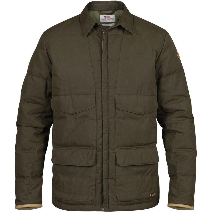 Fjallraven Sormland Down Shirt Jacket 北极狐 男款羽绒衬衫夹克