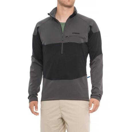 Patagonia R1 Field Polartec Power Dry Fleece Shirt 巴塔哥尼亚 男款羊毛抓绒衣