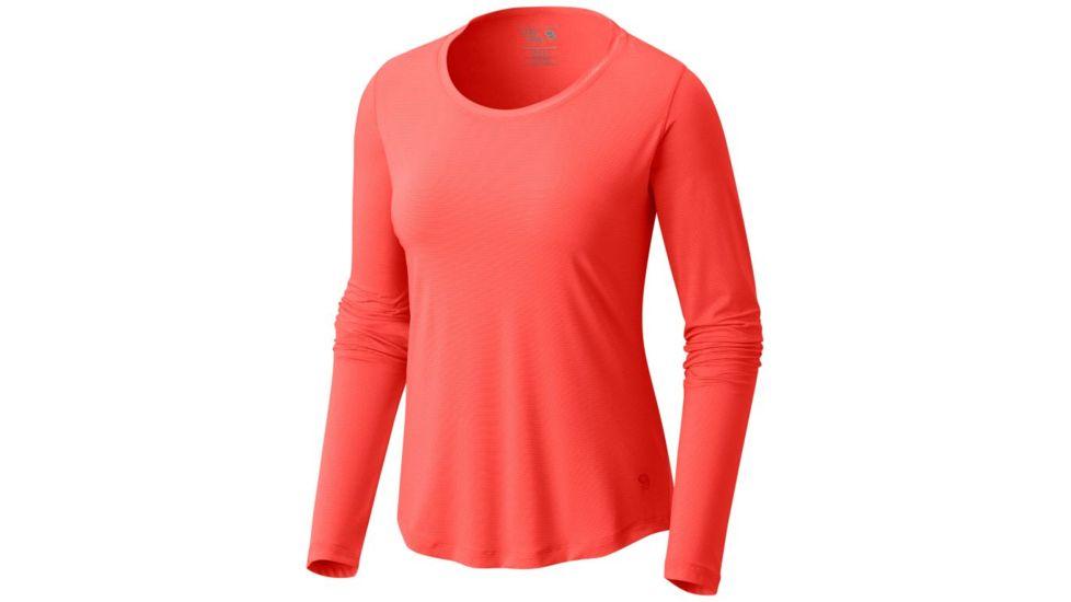 Mountain Hardwear Wicked Lite Long Sleeve 山浩 女款针织长袖T恤
