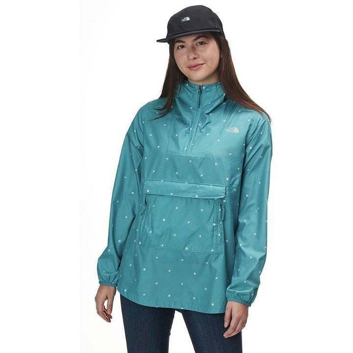 The North Face Printed Fanorak Jacket 北面 女款防风套头衫