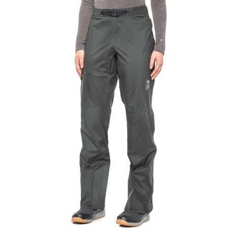 Mountain Hardwear Quasar Lite II Pant 山浩 女款轻量防水冲锋裤