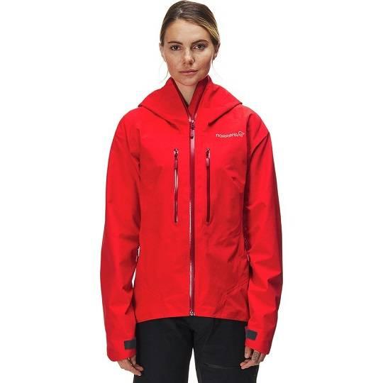 Norrona Trollveggen Gore-Tex Light Pro Jacket  老人头 女款防水透气硬壳冲锋衣